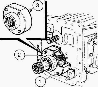 Mf 3060 3065 Tractor Gearbox Assembly