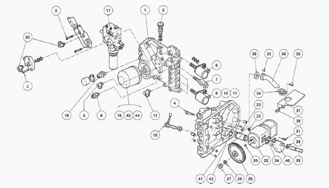 massey ferguson 6160  6170 hydraulic circuit right