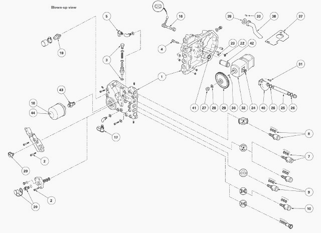 Ford 1210 Steering Parts : Ford tractor hydraulic pump imageresizertool