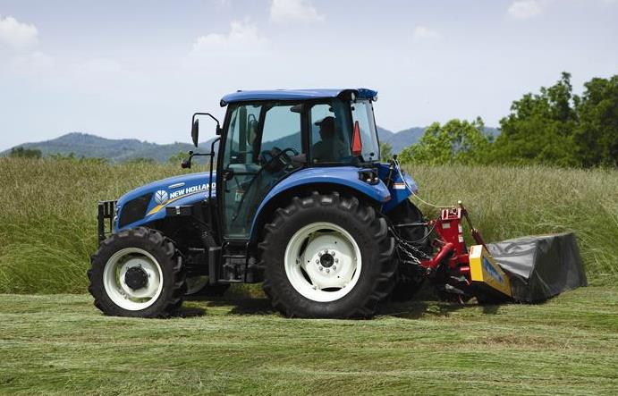 New Holland 75hp 4x4 Tractors : New holland t powerstar tier b tractor specs