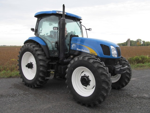 New Holland T6050 Delta Tractor Specs