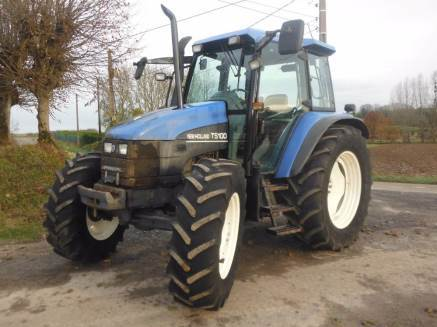 New Holland TS100 Tractor Specs